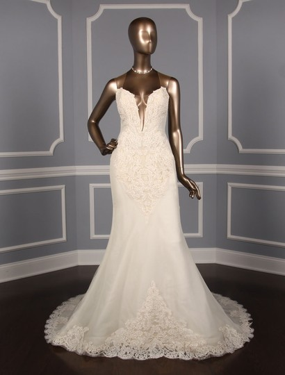 Preload https://img-static.tradesy.com/item/25859460/ines-di-santo-chic-alencon-lace-sexy-wedding-dress-size-10-m-0-0-540-540.jpg