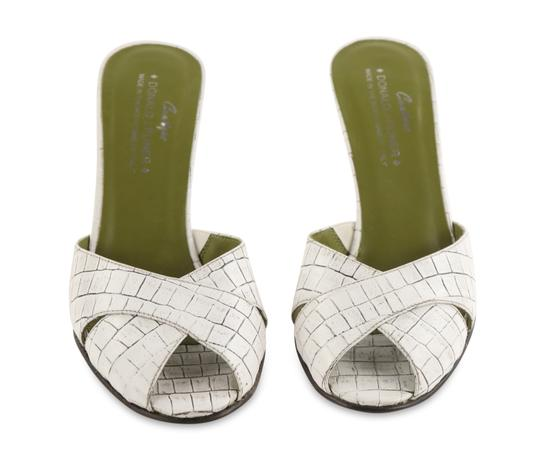 Donald J. Pliner Mule Made In Italy white Pumps Image 2