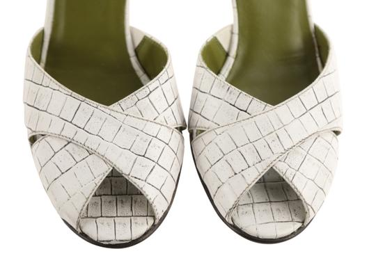 Donald J. Pliner Mule Made In Italy white Pumps Image 5