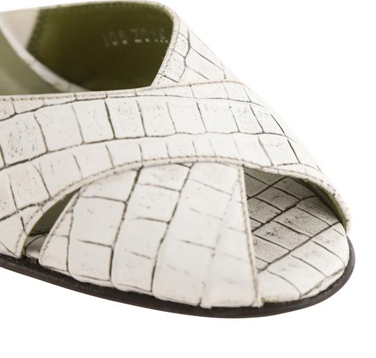 Donald J. Pliner Mule Made In Italy white Pumps Image 7
