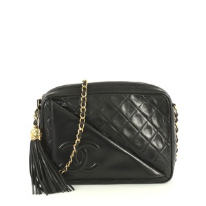 Chanel Camera Lambskin Cross Body Bag