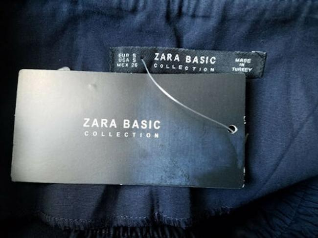 zara Relaxed Pants Blue Image 2
