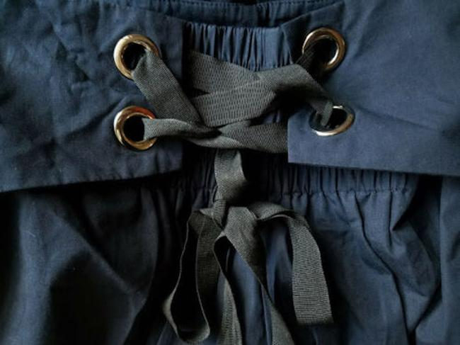 zara Relaxed Pants Blue Image 3
