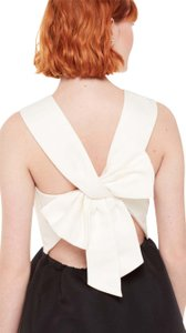 Kate Spade Back Bow Dress Cream Dress