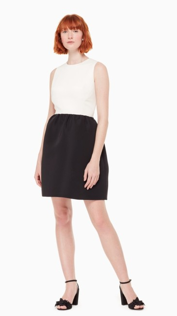 Kate Spade Back Bow Dress Cream Dress Image 1