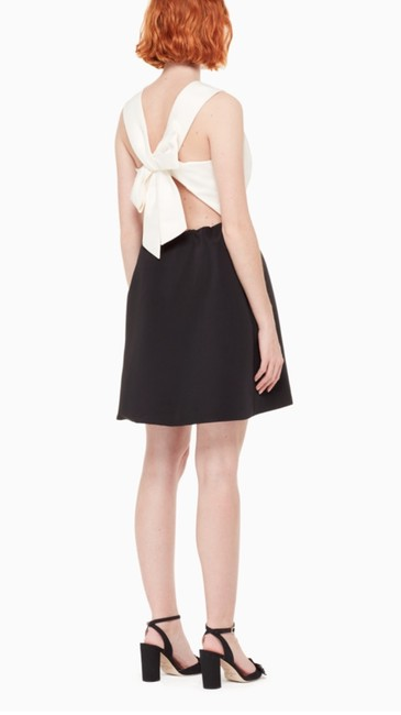 Kate Spade Back Bow Dress Cream Dress Image 2