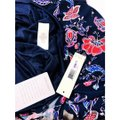 Eliza J Sheath Navy Floral 3/4 Sleeve Lined Dress Image 6
