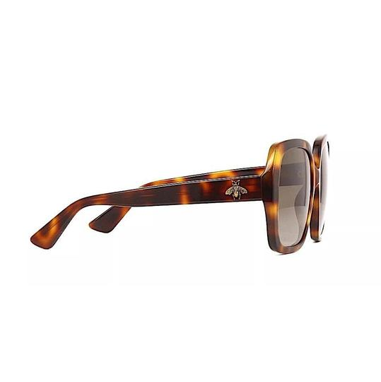 Gucci Brown with Tag Brown/Gold Havana. Square Image 2