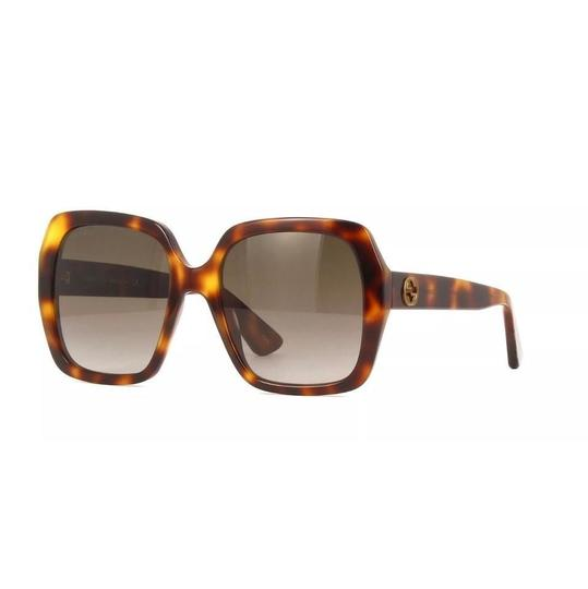 Gucci Brown with Tag Brown/Gold Havana. Square Image 3