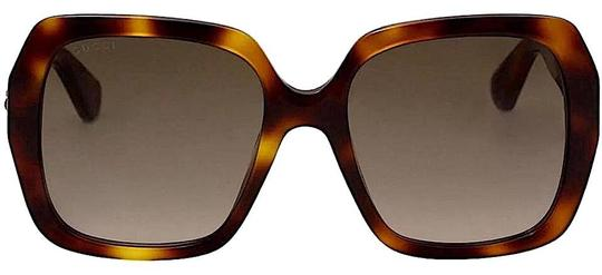 Gucci Brown with Tag Brown/Gold Havana. Square Image 5