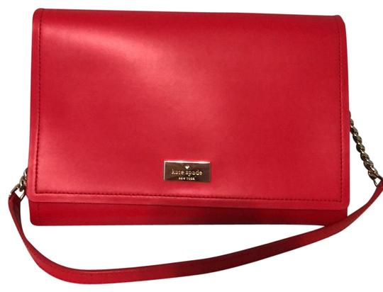 Preload https://img-static.tradesy.com/item/25859765/kate-spade-angelea-arbour-hill-red-pink-contrast-leather-shoulder-bag-0-1-540-540.jpg