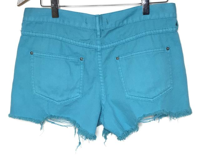 Free People Cut Off Shorts Blue Image 2