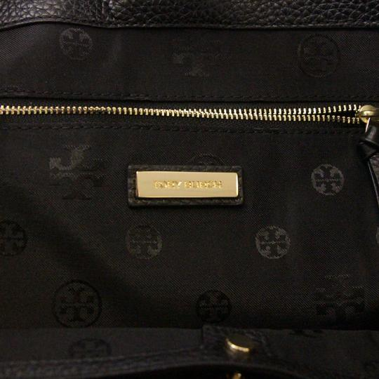 Tory Burch Taylor Braided Tote in Black Image 8