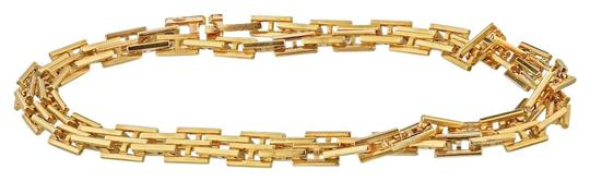 Preload https://img-static.tradesy.com/item/25859936/hermes-yellow-gold-vintage-h-link-chain-18k-16-inches-necklace-0-1-540-540.jpg