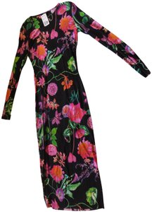 Forever 21 Pencil Floral Fitted Summer Dress