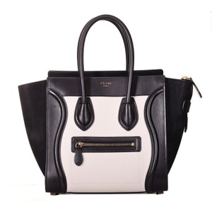 Céline Satchel in Black & White