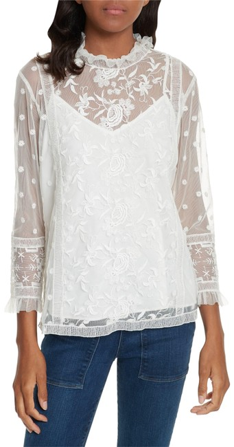 Joie Jaelin Top White/Porcelain Image 0
