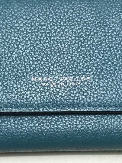 Marc Jacobs Marc Jacobs turquoise leather wallet Image 1