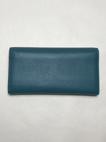 Marc Jacobs Marc Jacobs turquoise leather wallet Image 2
