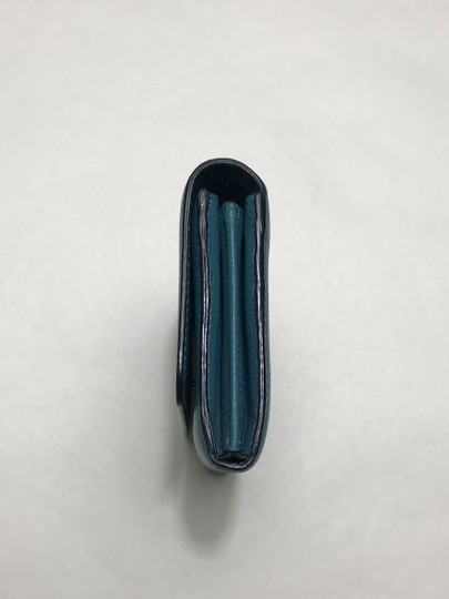 Marc Jacobs Marc Jacobs turquoise leather wallet Image 6