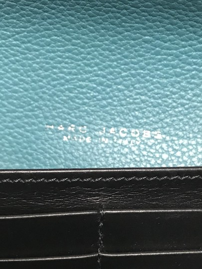 Marc Jacobs Marc Jacobs turquoise leather wallet Image 8