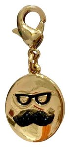 Kate Spade How Charming Disguise Mustache Gold Charm