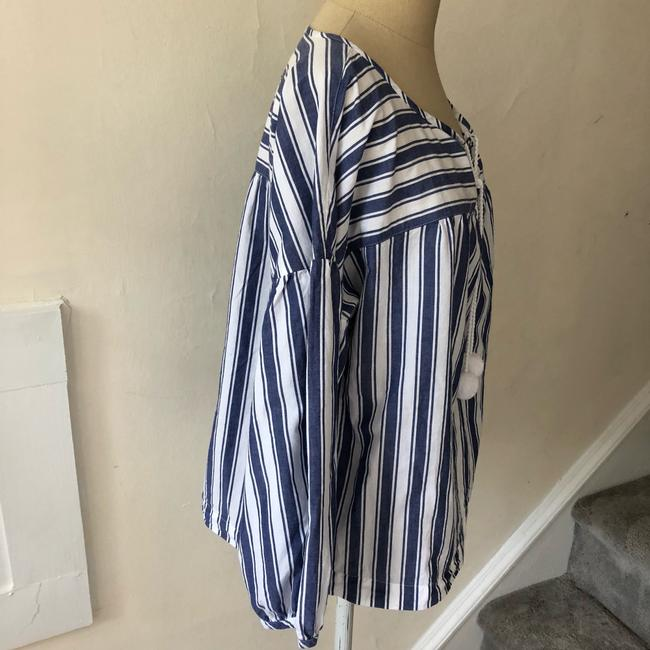 Madewell Top blue and white Image 5