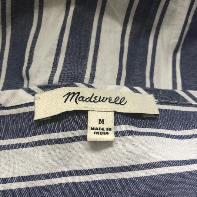 Madewell Top blue and white Image 8