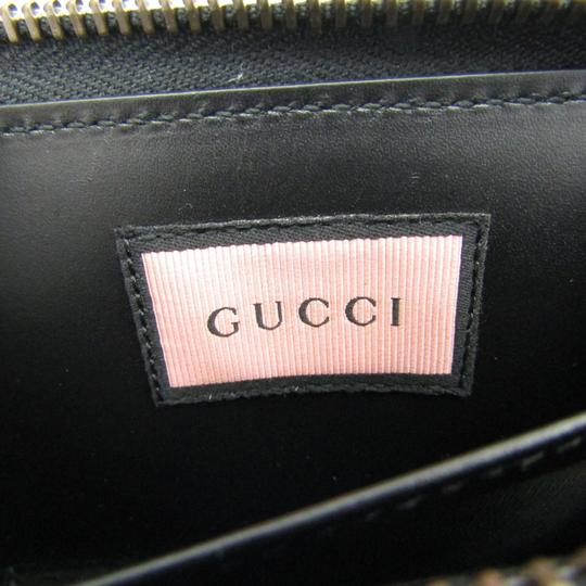 Gucci Gucci Leather Card Case Black,Blue,Yellow 448465 DS1AT 8438 Image 6