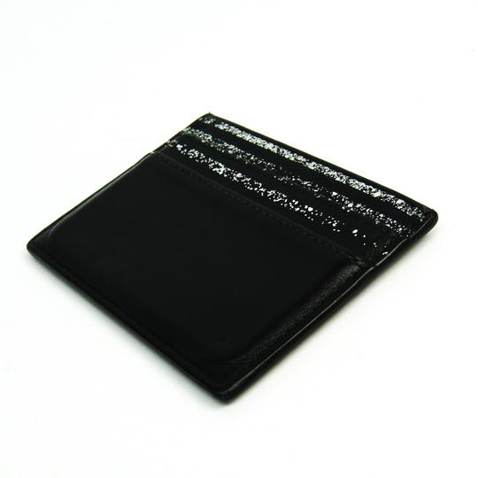 Dior Dior Homme Leather Card Case Black,White Image 1