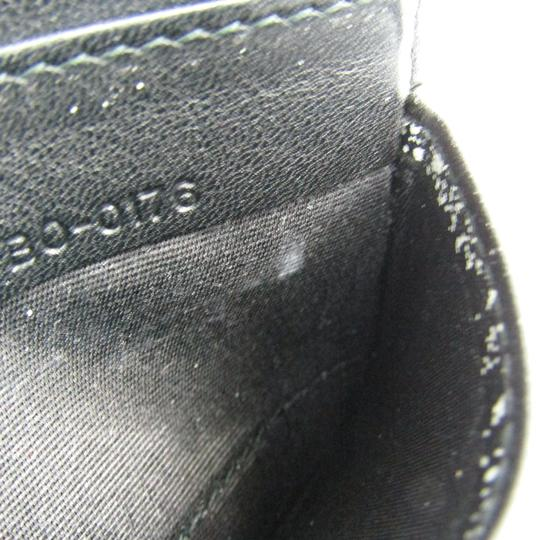 Dior Dior Homme Leather Card Case Black,White Image 3
