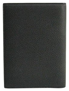 Dior Dior Homme Leather Passport Cover Black