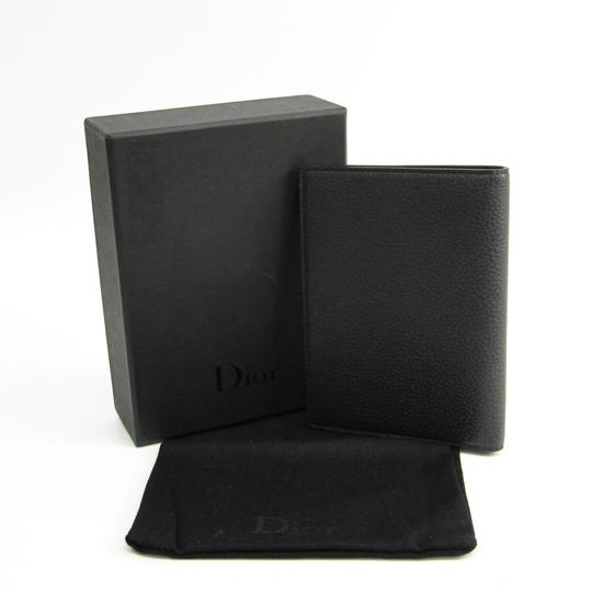 Dior Dior Homme Leather Passport Cover Black Image 8
