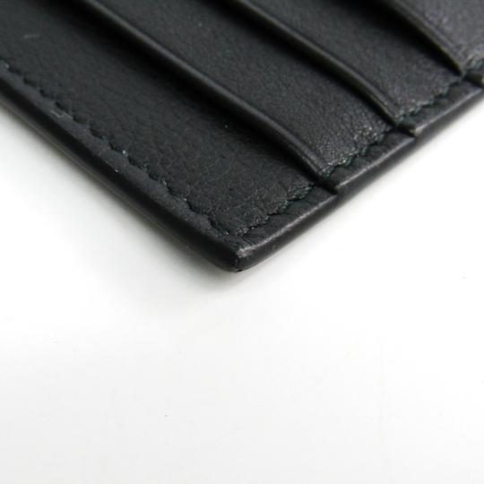 Dior Dior Homme Leather Card Case Black,Gray Image 3