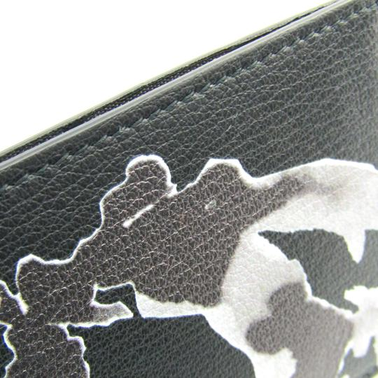 Dior Dior Homme Leather Card Case Black,Gray Image 4