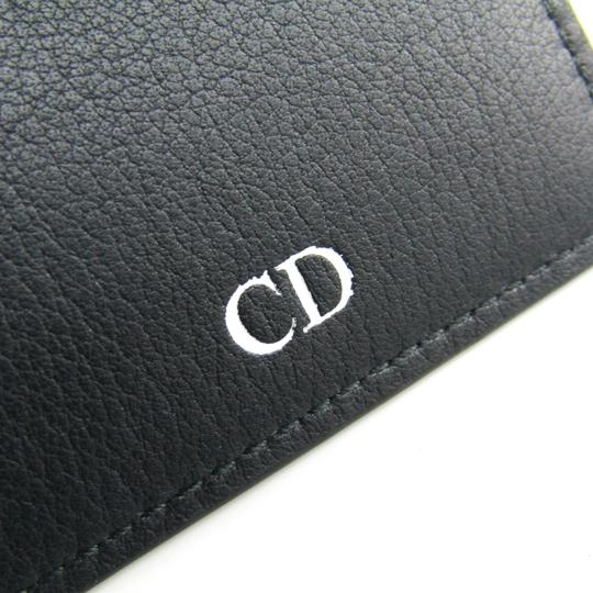 Dior Dior Homme Leather Card Case Black,Gray Image 5