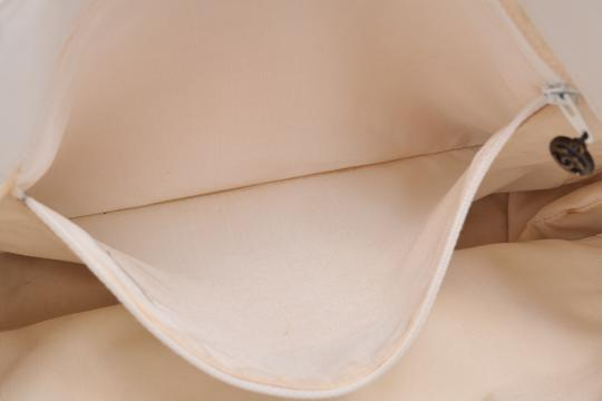Chanel Leather Shopping Tote in White Image 18