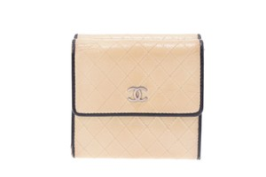 Chanel Chanel Bicolor Leather Wallet Black/Ivory