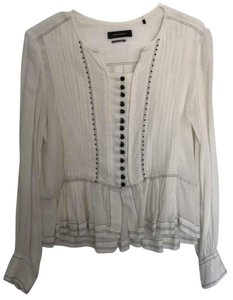 Isabel Marant Top Black and Cream