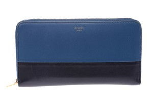 Céline Celine Round Fastener Wallet Leather Wallet