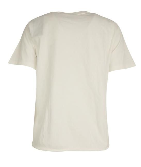 Saint Laurent Cotton T Shirt White Image 2