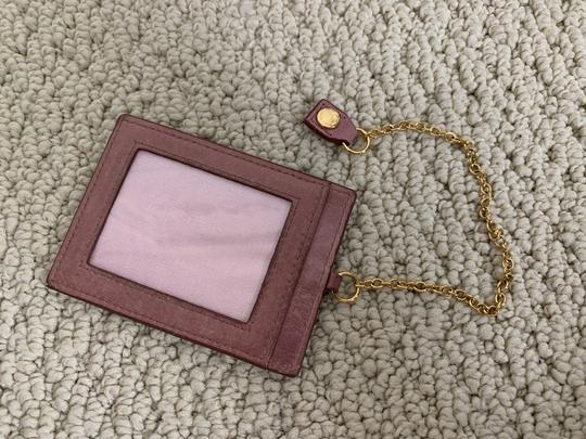 Miu Miu Dusty Rose Pink Matelasse Quilted Leather Bifold Continental Wallet Image 11