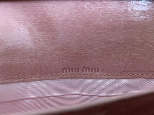 Miu Miu Dusty Rose Pink Matelasse Quilted Leather Bifold Continental Wallet Image 8