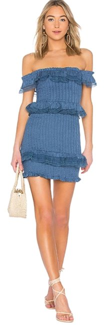 Item - Blue Teri Mini Revolve Short Night Out Dress Size 0 (XS)