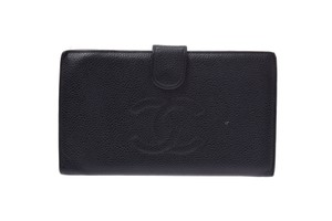Chanel Chanel Leather Wallet Black