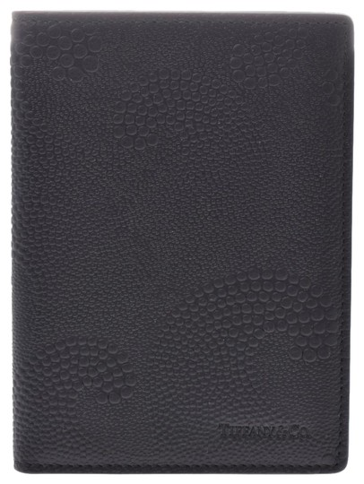 Tiffany & Co. Tiffany Leather Wallet Black Image 0