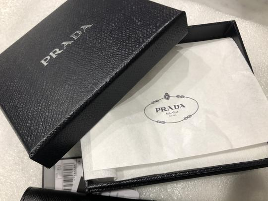 Prada Men's Saffiano Leather Billfold Wallet Metal Logo 2MO513 Image 5