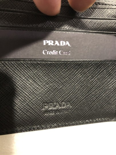 Prada Men's Saffiano Leather Billfold Wallet Metal Logo 2MO513 Image 8