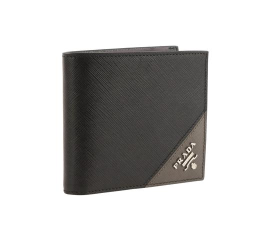 Prada Saffiano Leather Bifold Wallet Image 1