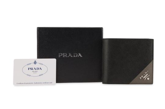 Prada Saffiano Leather Bifold Wallet Image 11
